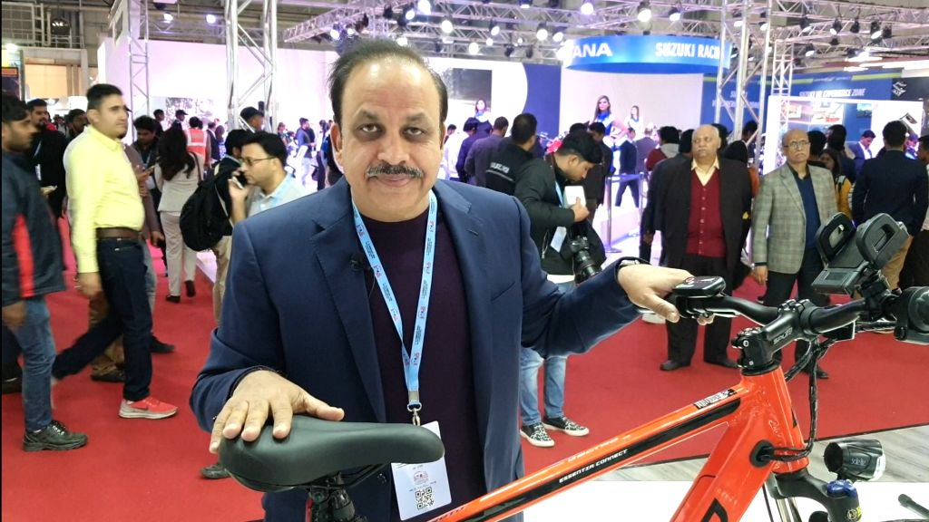 Pankaj M Munjal, Chairman and Managing Director of Hero Cycles.