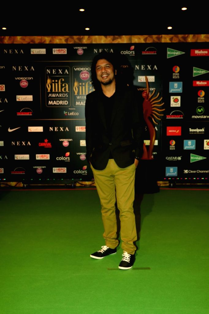 Papon during Videocon d2h IIFA Rocks 2016 in Madrid on June 24, 2016.