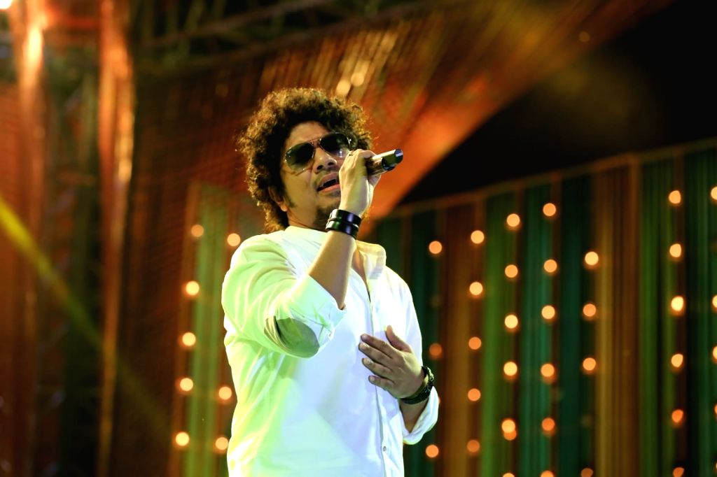 Papon recalls the first song he recorded.