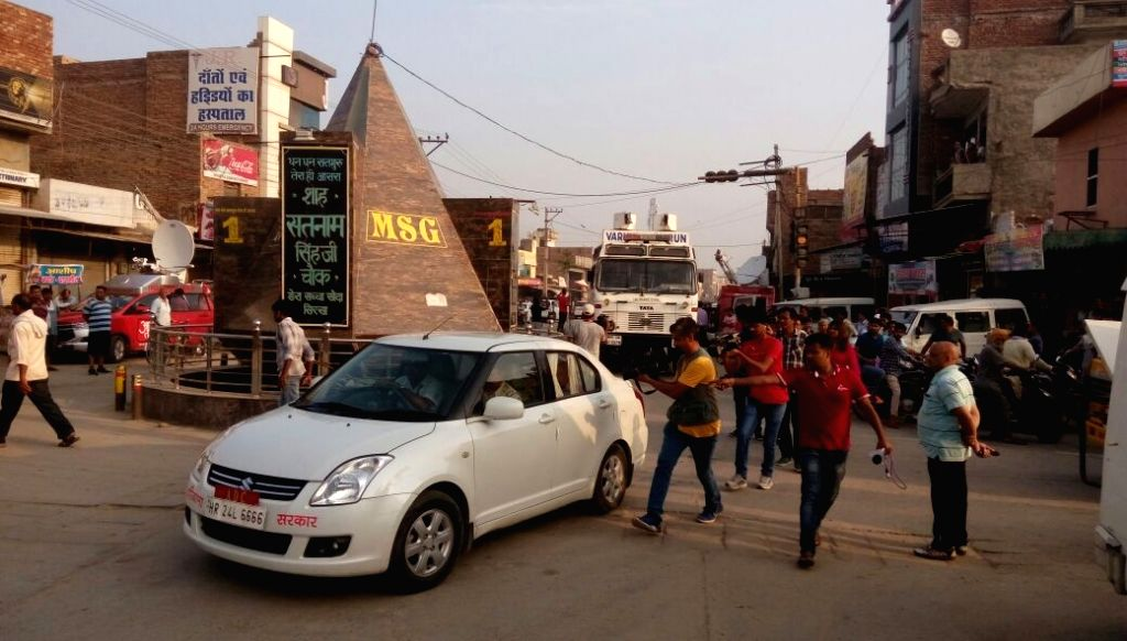 Para-military forces deployed as security agencies and district authorities began a search operation at the Dera Sacha Sauda headquarters near Haryana's Sirsa town amid tight security and ...
