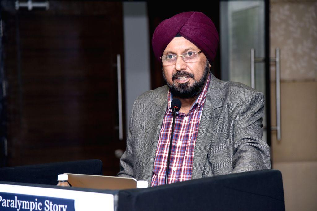 Paralympic Committee of India Interim President Gursharan Singh. - Gursharan Singh