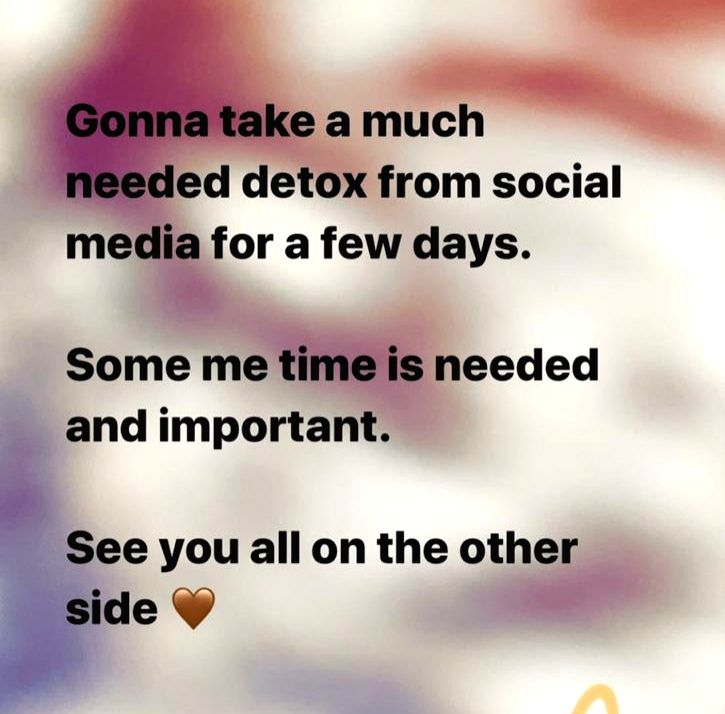 Parineeti Chopra is on a social media detox. - Parineeti Chopra