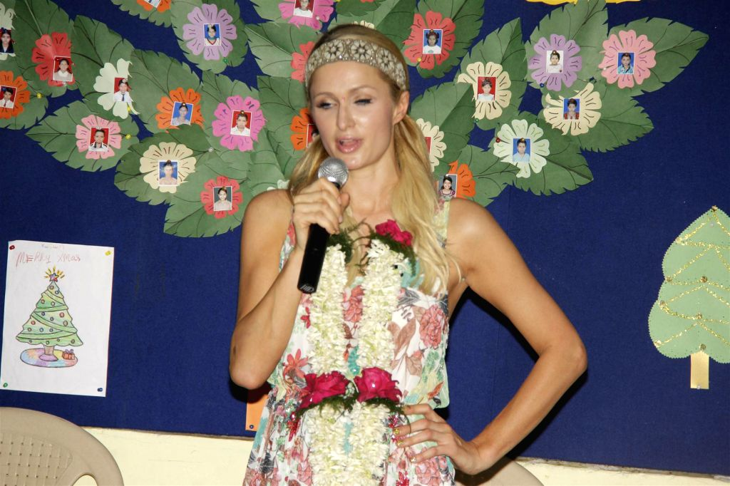 Paris Hilton has been 'playing a character'. (Photo: IANS)