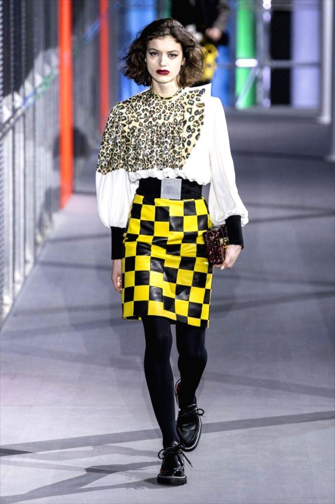 France Paris Fashion Week Louis Vuitton