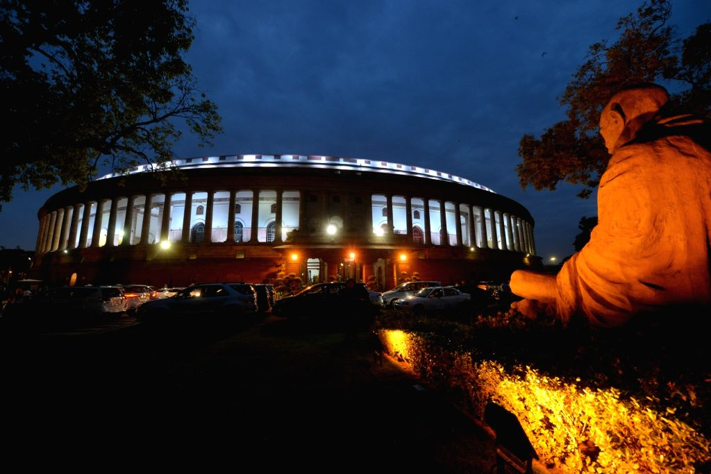 Parliament. (File Photo: IANS)
