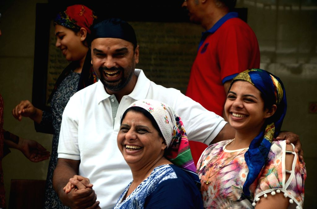 Parsis celebrate 'Jamshedi Navroz' in Mumbai on Aug 17, 2017.