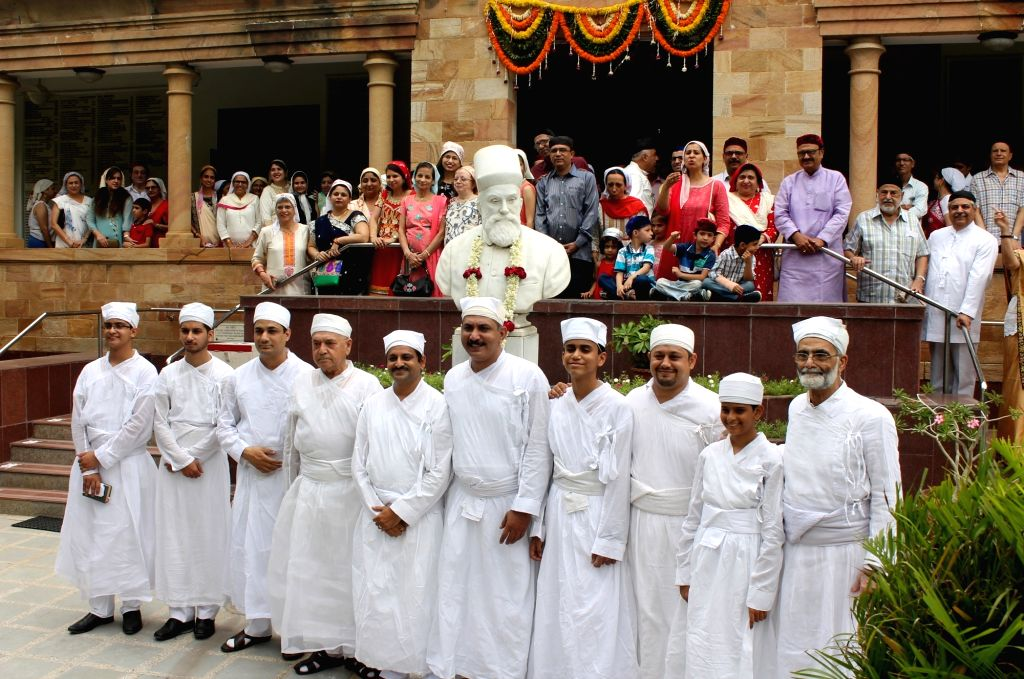 Parsis celebrate 'Jamshedi Navroz' in Nagpur on Aug 17, 2017.