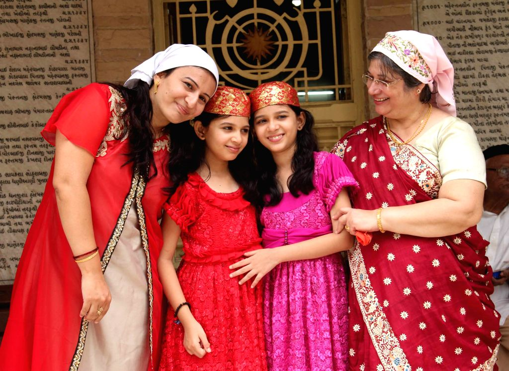 Parsis observe `Pateti` - the last day of the Parsi calendar in Ahmedabad on Aug 18, 2015.