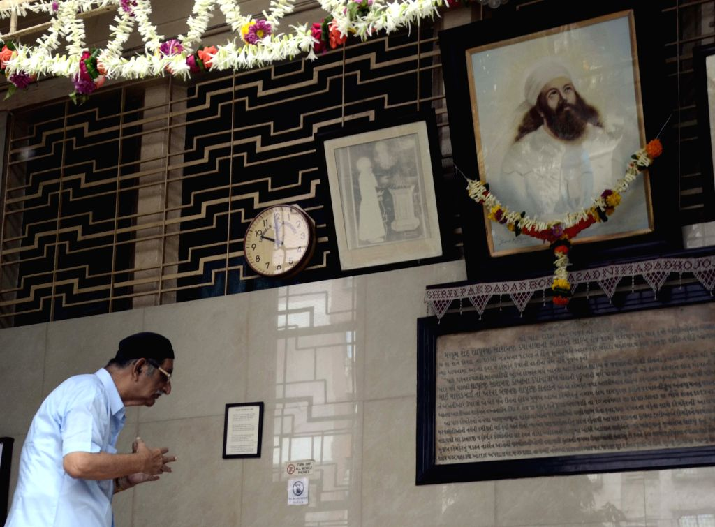 Parsis observe `Pateti` - the last day of the Parsi calendar in Mumbai, on Aug 18, 2015.