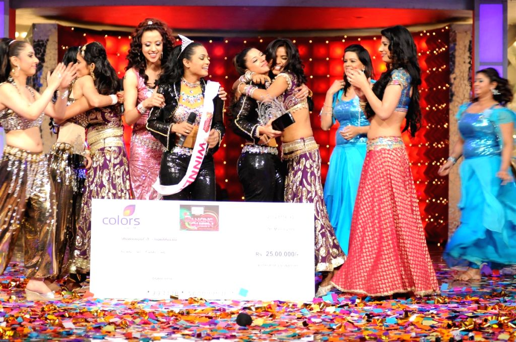 Participants at the Colors Dancing Queen grand finale.