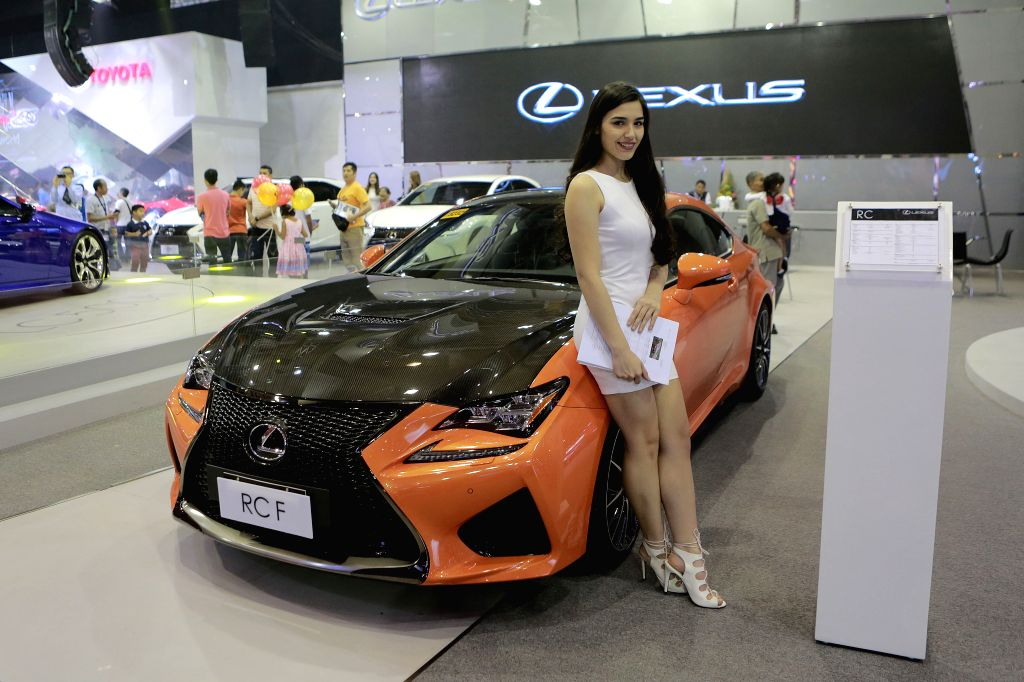 PASAY CITY, Sept. 18, 2016 - A model presents a car during the 6th Philippine International Motor Show at the World Trade Center in Pasay City, the Philippines, Sept. 18, 2016. The annual Philippine ...