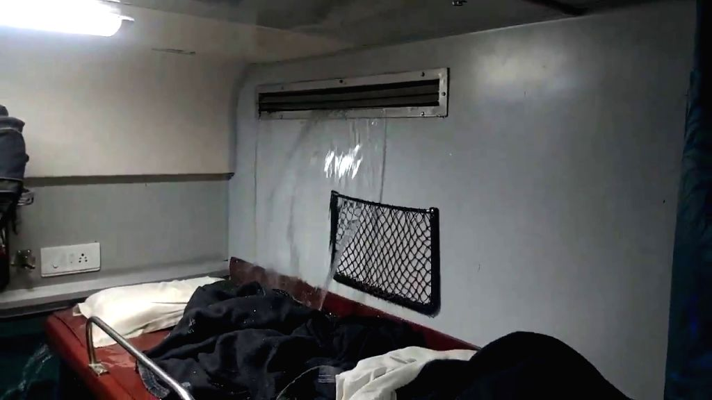 Passengers of the Bengaluru-Danapur Sanghmitra Express had appealed to Railway Minister Piyush Goyal for help after a stream of water started flowing in from the air conditioning vents of their coach. The problem was rectified by a Railways team with - Piyush Goyal