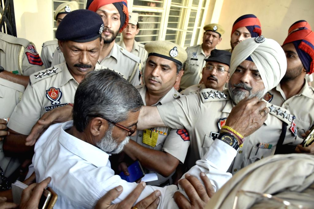 Pathankot: Sanji Ram, temple priest and mastermind in the rape and murder of an eight-year-old girl in Jammu and Kashmir's Kathua, one of the three convicts who were pronounced a life imprisonment of 25 years by a Special Court in Pathankot, Punjab o