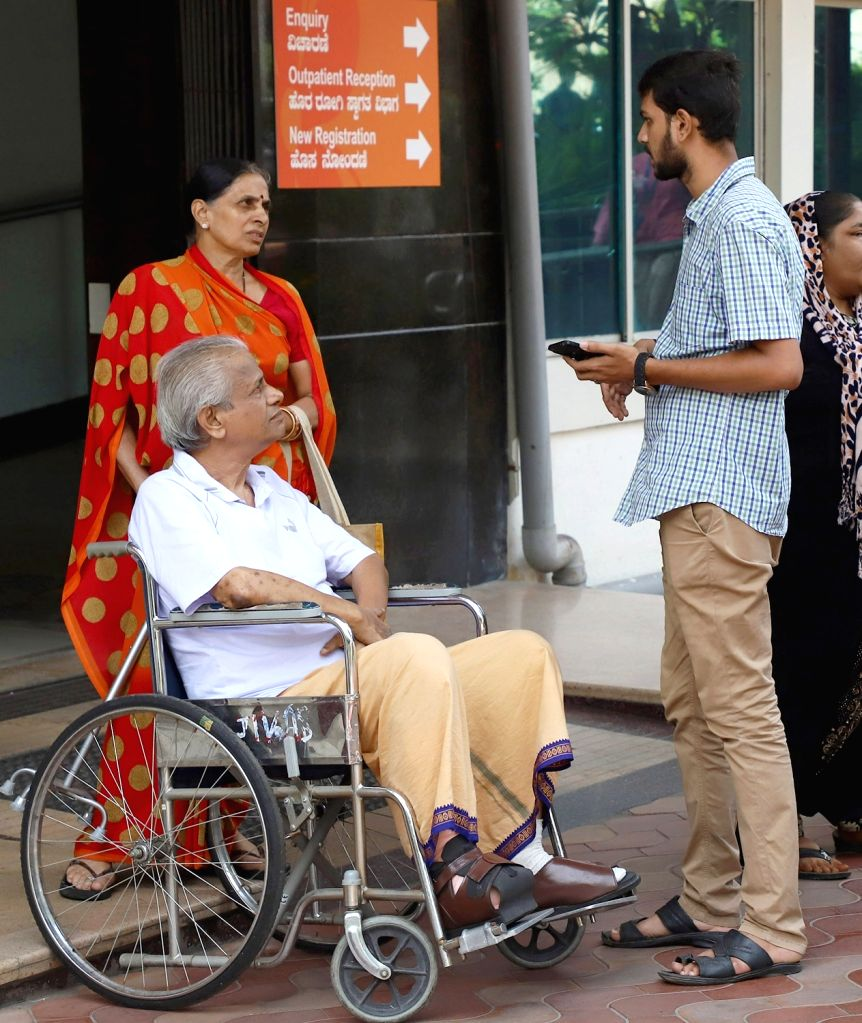 Patients inconvenienced during one-day token strike called by the Indian Medical Association (IMA) in support of the junior doctors??? stir of NRS Medical College, Kolkata, who were ...
