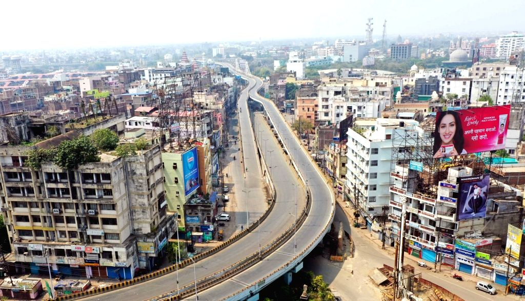Patna comes to a standstill during nationwide shutdown - Janata Curfew - called by Prime Minister Narendra Modi as a measure to contain the spread of COVID-19, on March 22, 2020. - Narendra Modi
