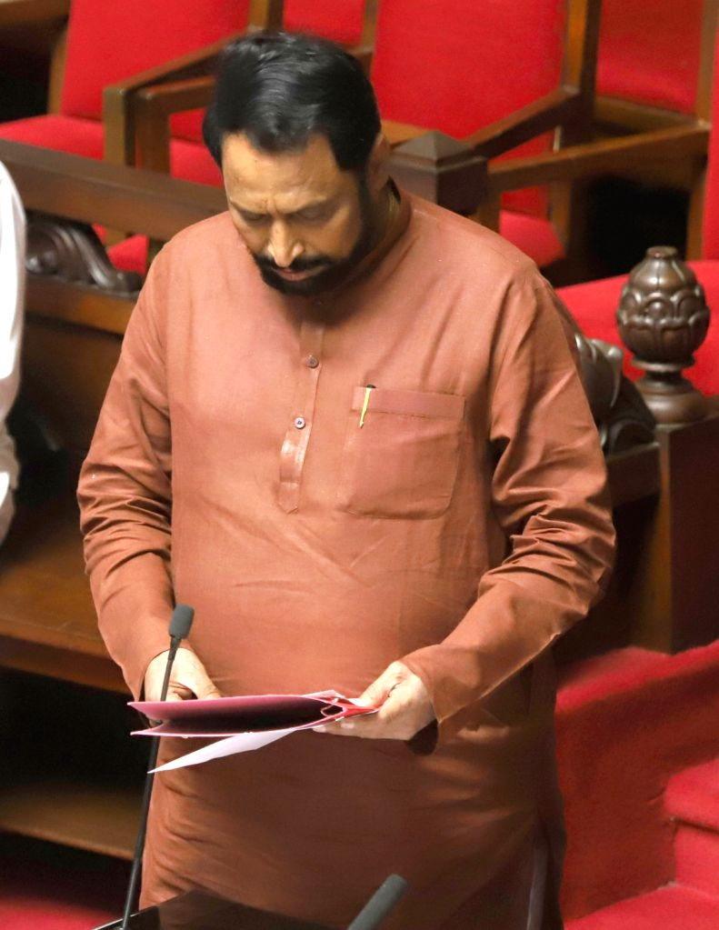 Patna: Karnataka Deputy Chief Minister Laxman Savadi after taking oath as Karnataka BJP MLC during the State Legislature Session at Vidhan Soudha, in Bengaluru on Feb 18, 2020. (Photo: IANS) - Laxman Savadi