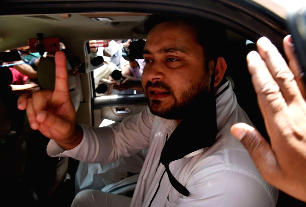 Patna, May 29 (IANS) The political bickering over the triple murder in Gopalganj, Bihar, has intensified. The district administration did not allow the Leader of the Opposition in the Bihar assembly, Tejashwi Yadav, to travel to Gopalganj on - Tejashwi Yadav