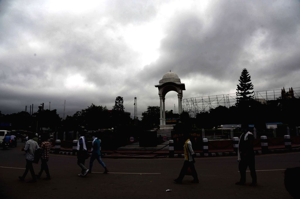 Patna witnesses an overcast day, on July 9, 2020.