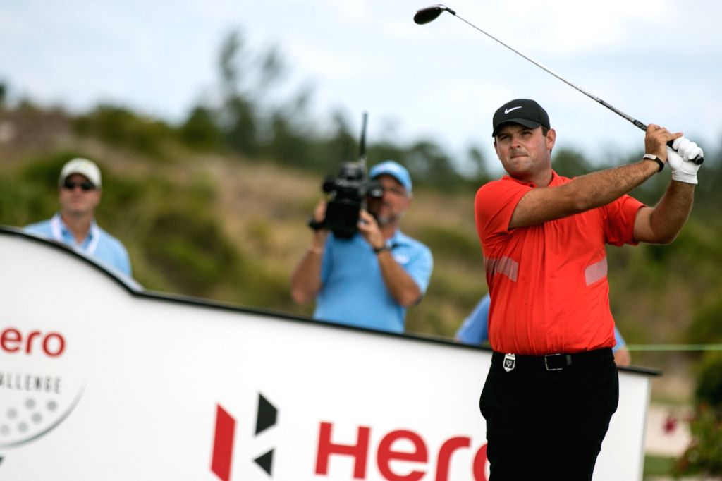 Patrick Reed during Round 2 at the Hero World Challenge at Albany Championship Course in the Bahamas.