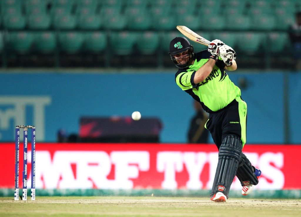 Paul Stirling's explosive 95 helped Ireland register a thrilling four-run win over West Indies in the first T20I of the three-match series played at the National Cricket Stadium, Grenada.