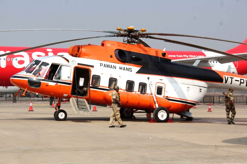 Pawan Hans helicopter. (File Photo: IANS)