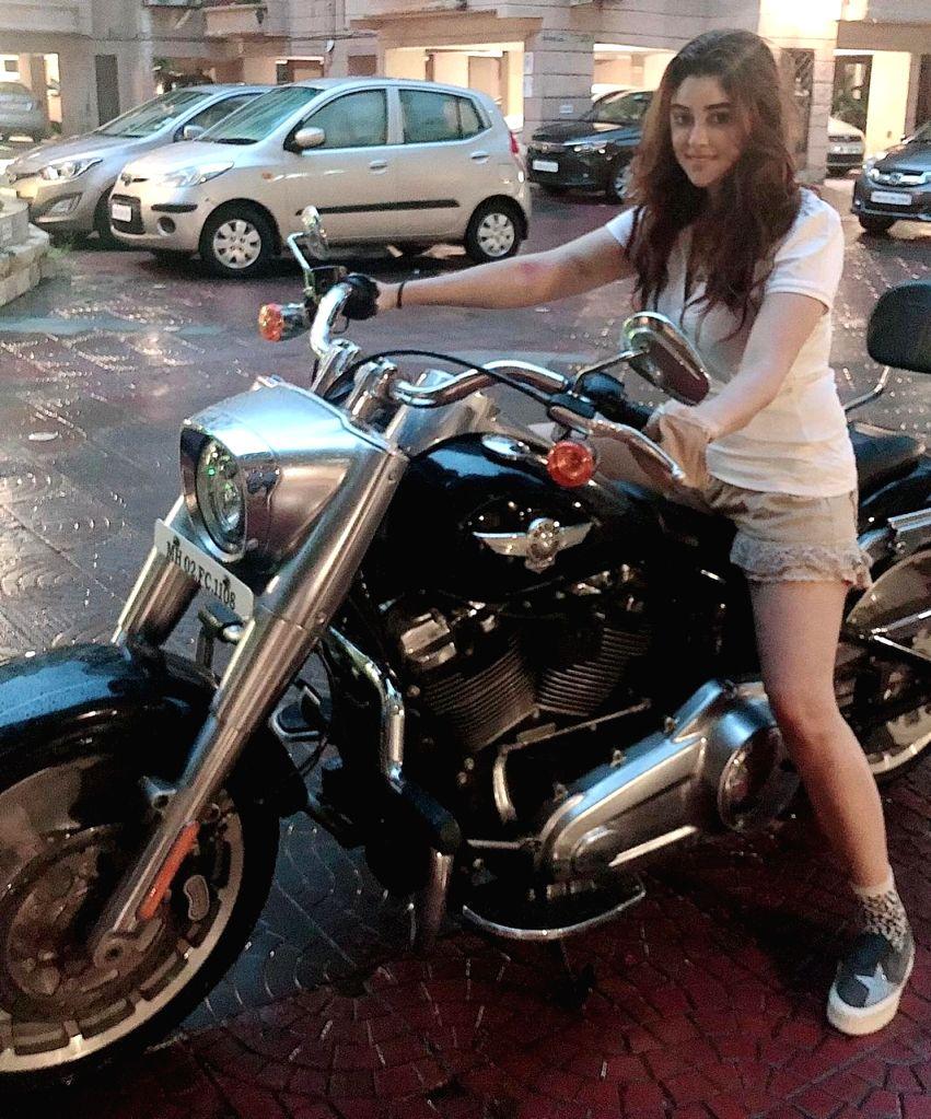 Payal Ghosh hones her bike riding skills for international film - Payal Ghosh