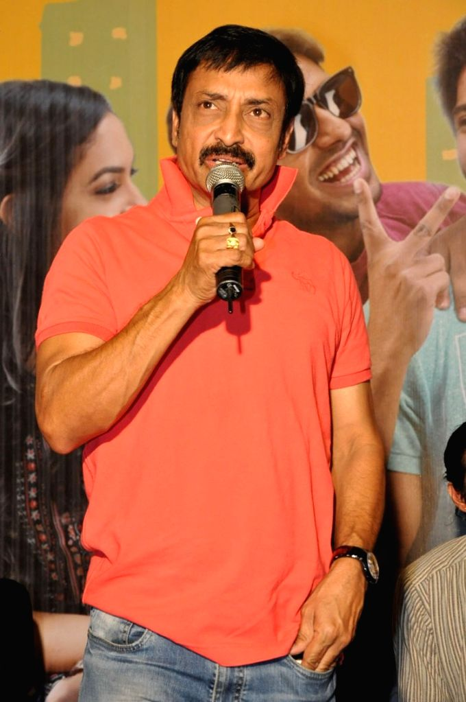 Pelli Choopulu  movie success meet.