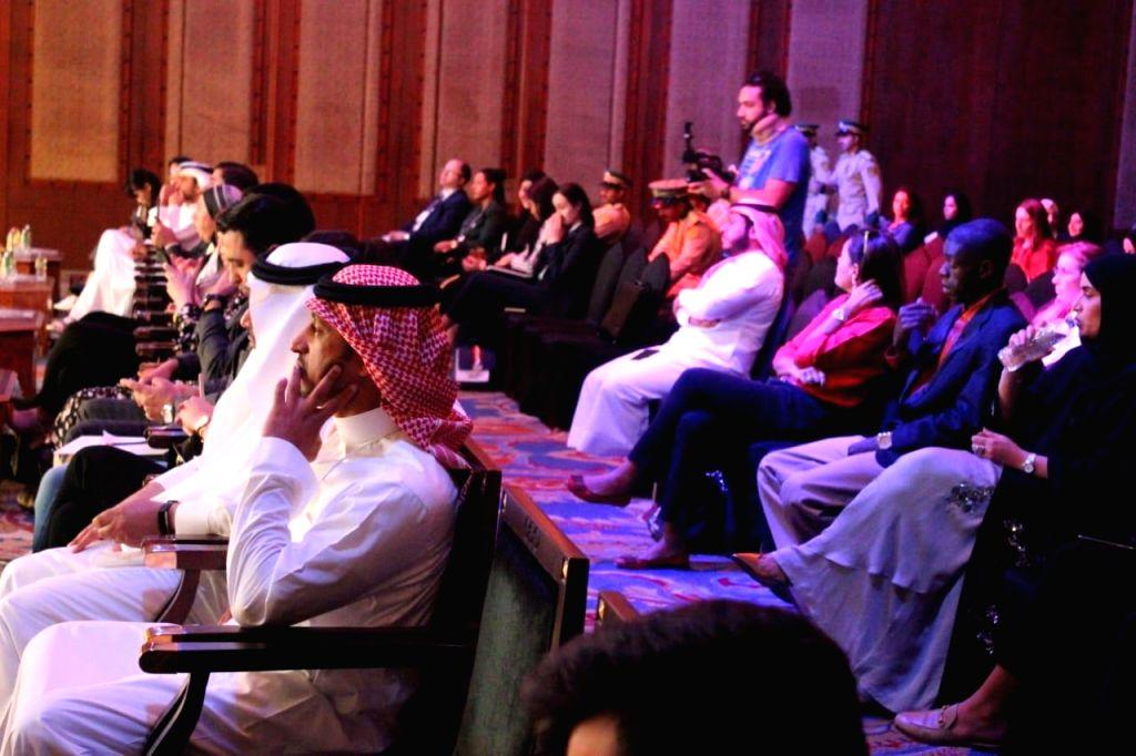 People attend the World Tolerance Summit in Dubai on Nov 13, 2019.