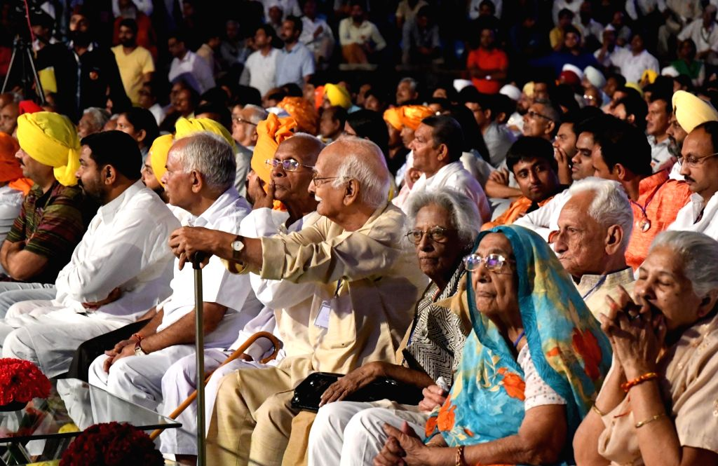 People during a programme organised on the eve of martyr Bhagat Singh's birth anniversary on Sept 27, 2016. - Bhagat Singh