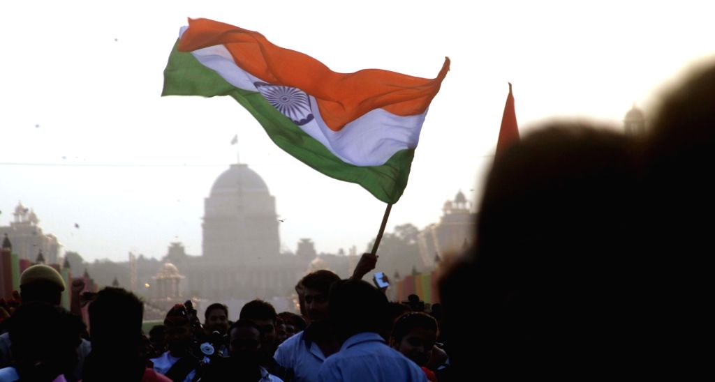 """People enjoying on the occasion of """"Bharat Parv"""" at Rajpath during 70th Independence Day celebration in New Delhi on Aug 15, 2016."""
