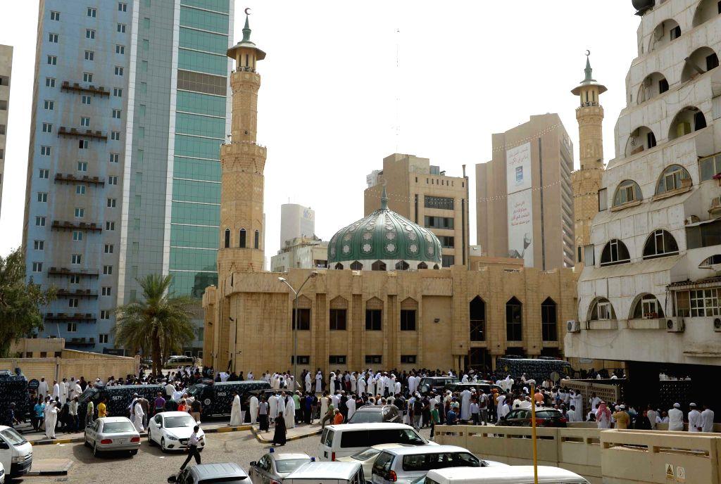 KUWAIT-KUWAIT CITY-SHIITE MUSLIM MOSQUE-ATTACK