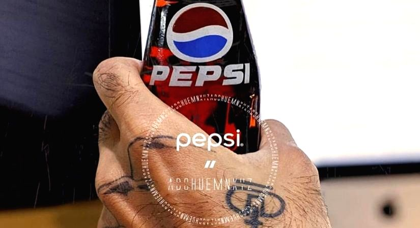 Pepsi makes its debut in fashion industry