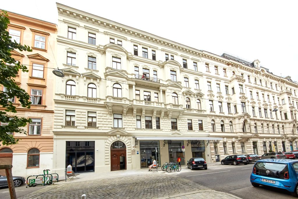 Photo taken on Aug. 29, 2020 shows the exterior of Sigmund Freud Museum in Vienna, Austria. Sigmund Freud Museum in Vienna reopened to visitors on Saturday after an ...