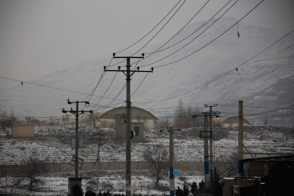 :Photo taken on Jan. 29, 2018 shows the site of the attack on a military university in Kabul, capital of Afghanistan. Gunmen attacked a military university in ...