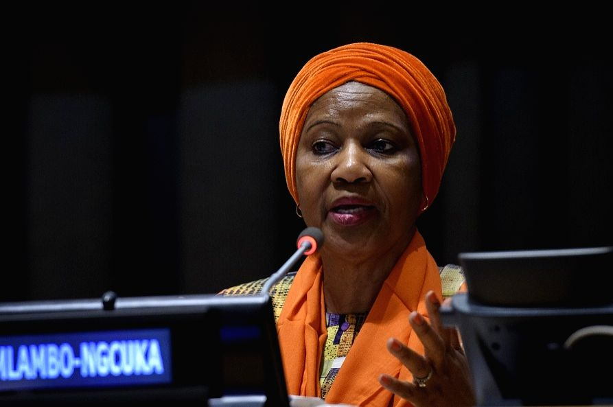 Phumzile Mlambo-Ngcuka, the executive director of Executive Director. (Photo: UN/IANS)