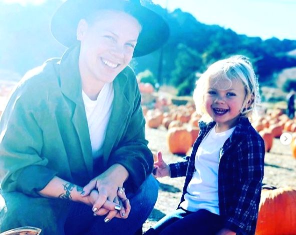 Pink calls corona battle with son most challenging.
