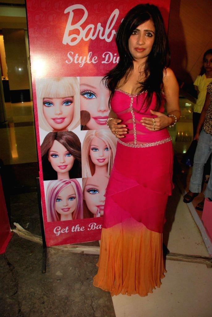 Pink day celebrations with Shibani Kashyap at Inorbit Mall.