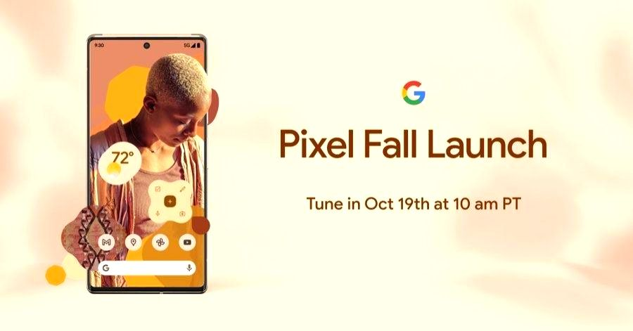 Pixel 6 Pro to launch on Oct 19.
