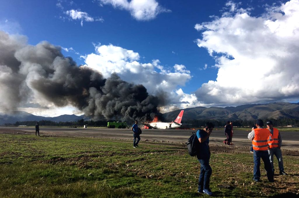 Plane carrying 83 crashes in Taliban-held Afghanistan area.