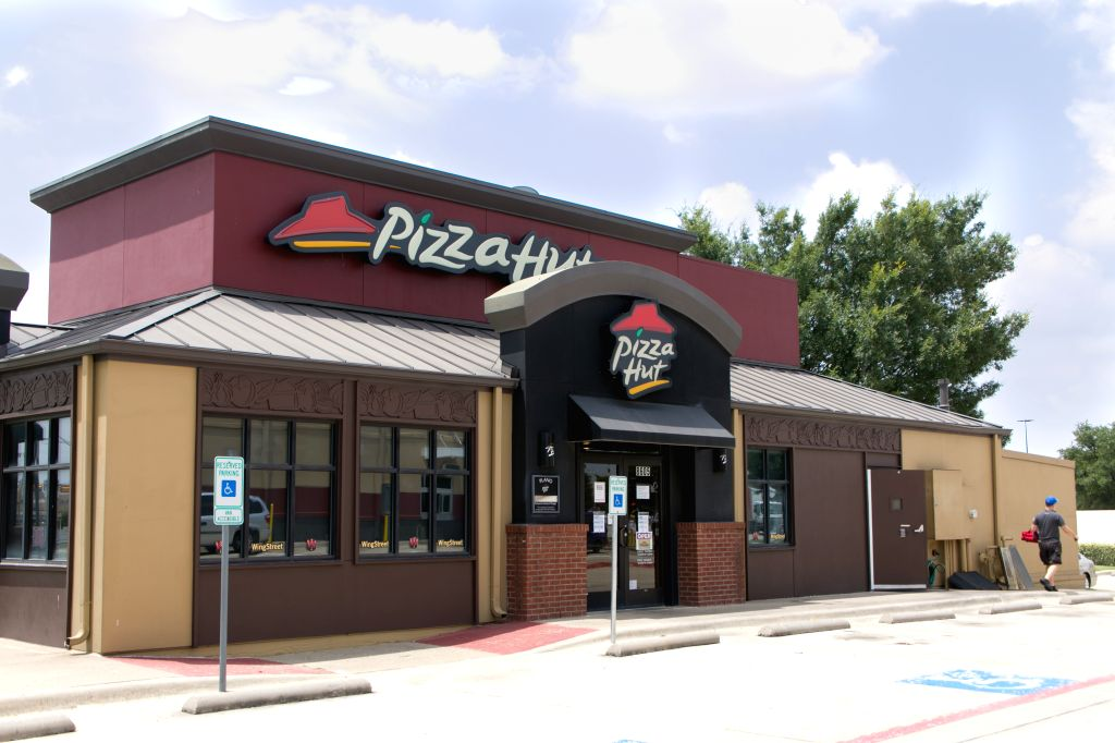 Plano (U.S.), July 2, 2020 A Pizza Hut restaurant is seen in Plano, Texas, the United States, on July 2, 2020. NPC International, the biggest U.S. franchisee of Pizza Hut, filed for ...