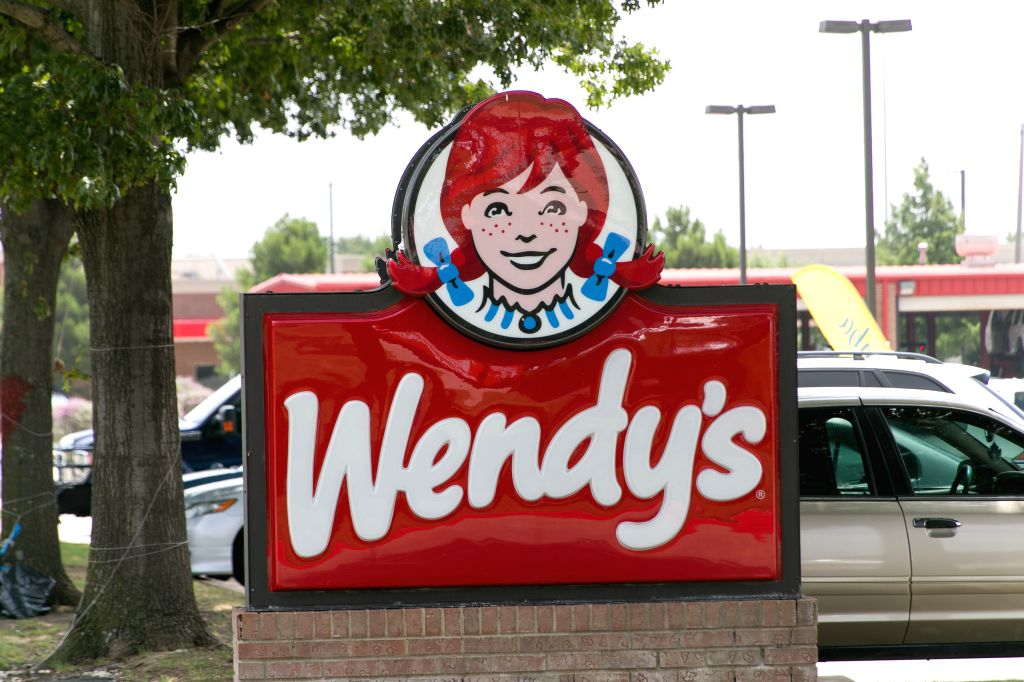 Plano (U.S.), July 2, 2020 The logo of a Wendy's restaurant is seen in Plano, Texas, the United States, on July 2, 2020. NPC International, the biggest U.S. franchisee of Pizza Hut, filed ...