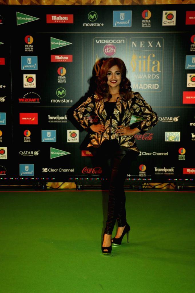 Playback Singer Monali Thakur   during IIFA Awards in Madrid on June 26, 2016.