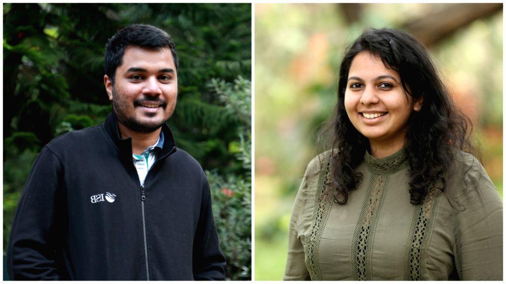 Plop co-founders Vineet Shetty and Anushka Shetty. - Vineet Shetty and Anushka Shetty