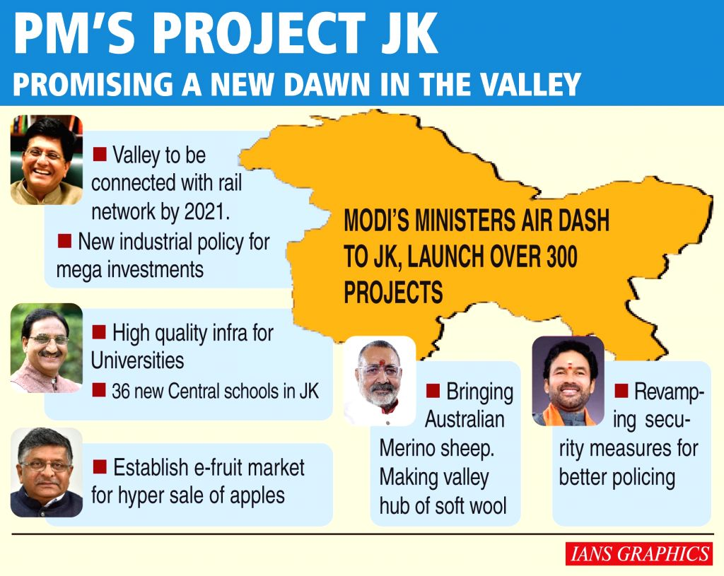 PM's Project JK- Promising a new dawn in the valley.