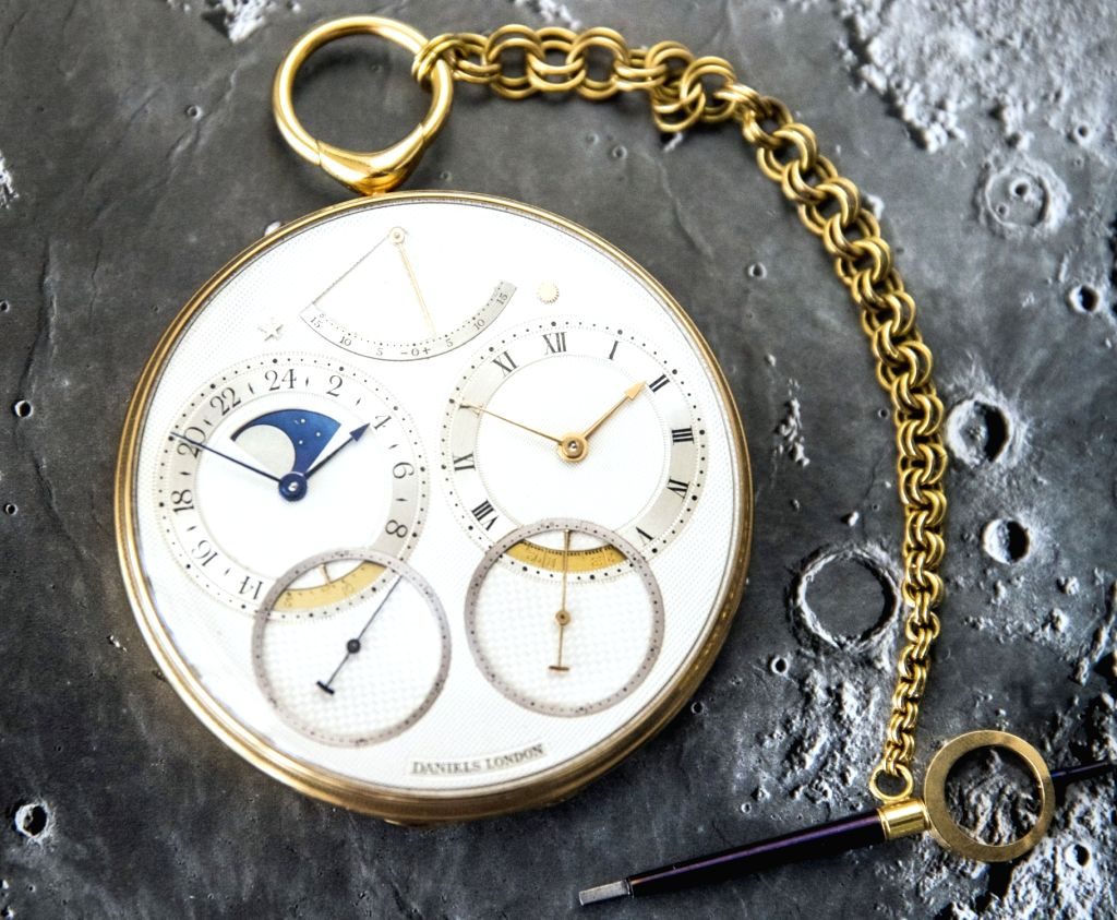 Pocket Watch 'Space Traveller I' by George Daniels has become the highest-selling English watch. It was sold for Rs 31.2 crore. (Photo Credit: Sotheby's)