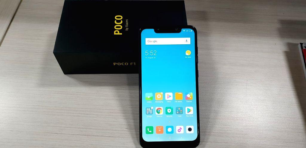 POCO F1 from Xiaomi. (Photo: IANS)