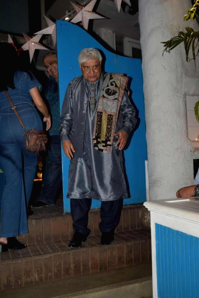 Poet, lyricist, screenwriter Javed Akhtar seen at Bandra in Mumbai on Jan 10, 2020.