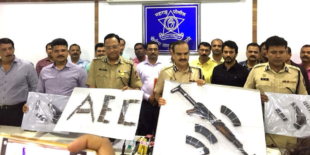 AK-56 seized from Dawood Ibrahim's gang members house