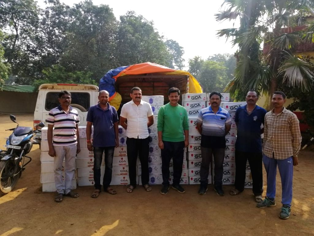 Police seize illegal liqour bottles worth Rs. 1.60 million in the dry district of Gadchiroli, reportedly meant for distribution before the Oct. 21 elections, in the prohibited districts ...