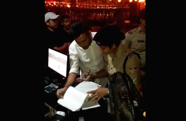 Police teams conducted raids at pubs and restaurants in Dehradun.